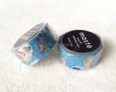 Mark's Maste Mini Washi Masking Tape - Coffee Table / Baby Panda - 2015