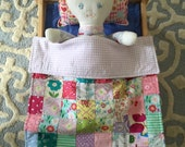 Baby Doll quilt and pillow toy pretend play