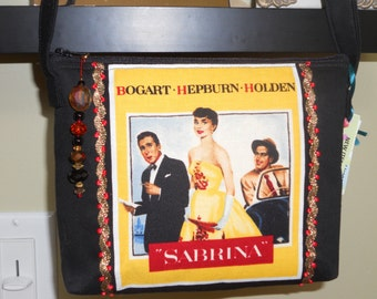 Hepburn Crossbody Bag  / Bogart / Holden / My Fair Lady / Hollywood Movie Star Icons