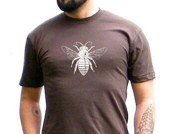 Mens Bee Tshirt - Bella Canvas Unisex Jersey Short Sleeve Tee - xs, small, medium, large, xl, 2xl