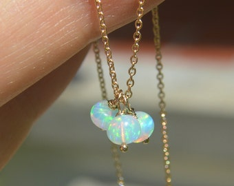 Welo Ethiopian Opal Necklace