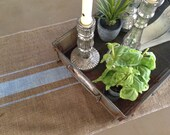 Burlap Grainsack  Farmhouse/Lake house/Coastal/Coastal Cottage  Table Runner