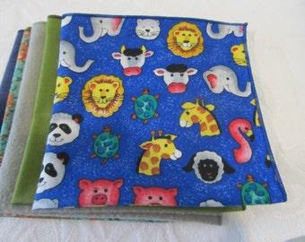 Cloth Napkins Set of Lunchbox Napkins #1