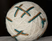 Wool Dryer Balls (Set of 3) - Felted Wool Dryer Balls-Clothing Dryer Balls-Totally Green Product