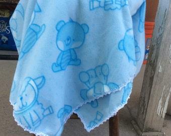 Fleece Toddeler-Size Blanket