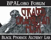 Enraged Orangutan Musk Perfume Oil - Black Phoenix Alchemy Lab Vintage