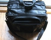 Tumi Leather Expandable Laptop Organizer Briefcase