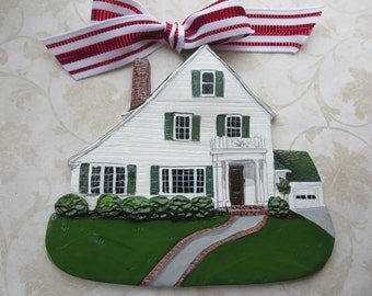 Custom listing for Douglas- one Custom House Ornament- a cherished keepsake of your home