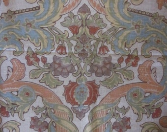 Large Scale Screen Printed Home Decorating Fabric Yardage