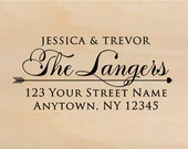 Self Inking Personalized Return Address Stamp - Custom Rubber Stamp R217