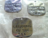 Dreaming of the Sea Charms 20 mm Set Of 3