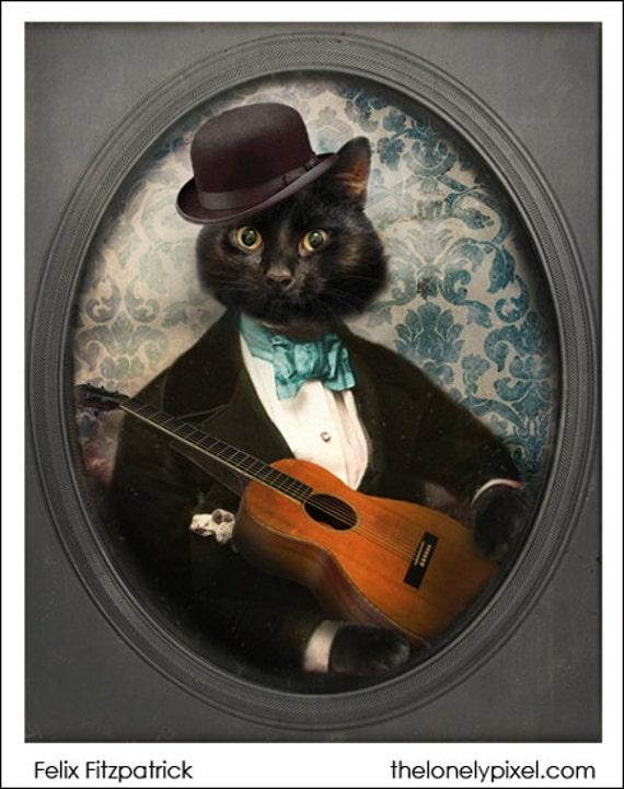 Black Cat Magnet Photo Magnet Gifts Under 10 Cat Magnets