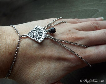 Bohemian Tribal Agate  Bracelet