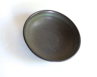 Vintage Bowl, Franciscan Madeira Brown and Green Stoneware