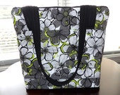Handbag/Purse - Pockets Inside and Outside- Zipper Closure - Bright - Handmade