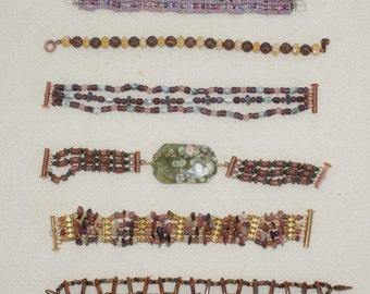 Stringing Along--Unique Strand Bracelets