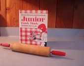 Vintage Childs Cook Book/ Better Homes and Gardens  1972/  Red Rolling Pin
