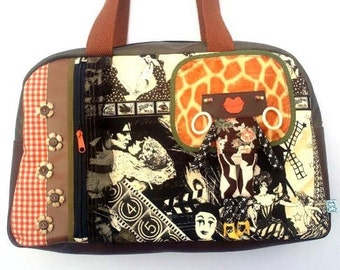 "Bag molly creative bag unique bag n77 bag ""Paris-Paris"""