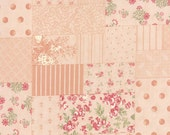 SALE Whitewashed by 3 Sisters for Moda Patchwork in pink