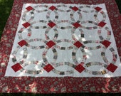 French General Double Wedding Ring Quilt