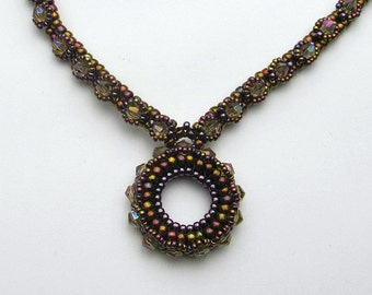 On the Rocks Necklace PDF Pattern (Instant Download) Jewelry Making