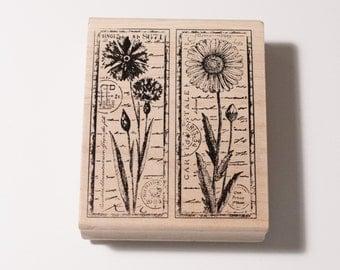 Crafty Individuals by Magenta flower stamp 95185N