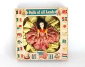 Vintage A & H Dolls of All Lands Hard Plastic Original Box