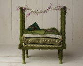 Dreamy Moss Fairy Baby Bed Prop