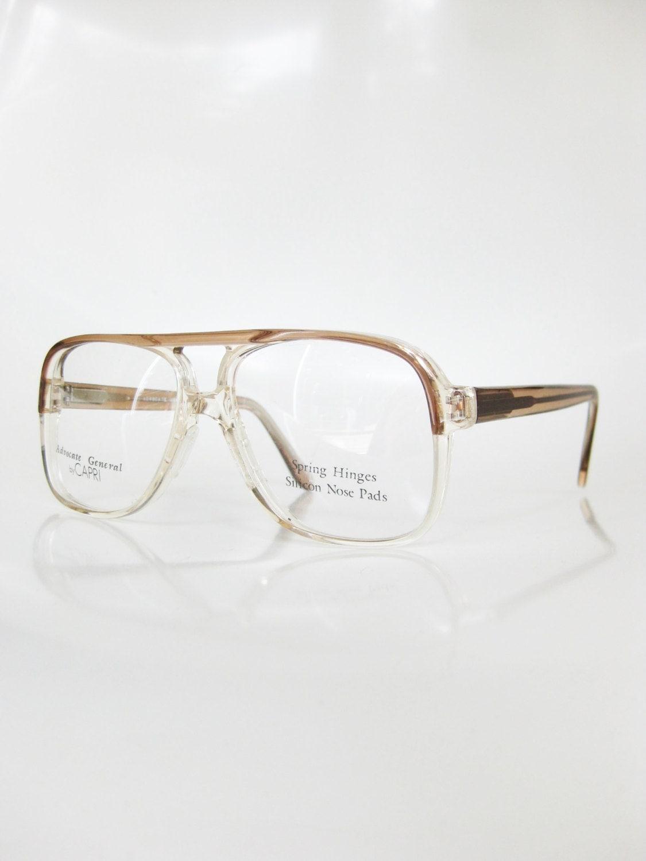 Vintage Clear Eyeglasses Mens Sunglasses Aviator Optical