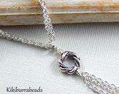 Vesper's Algerian Love Knot Necklace