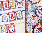 Circus Birthday Party Decorations Package Fully Assembled