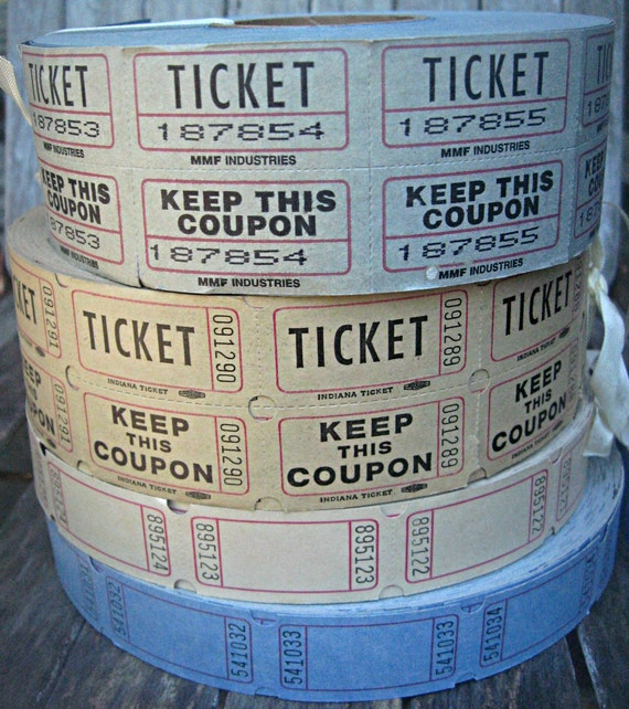 Coupon Codes For Home Decorators: Items Similar To Pastel Tickets/coupons, Mixed Media
