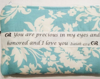Personalized Gift, Custom Pouch, Personalized zippered bag, Personalized pouch, Makeup pouch, Gift Idea