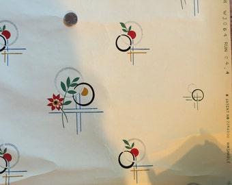 Wonderful Art Deco Kitchen Wallpaper - 1 1/2 rolls