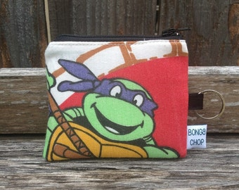 TMNT Donatello Mini Wallet with ID Holder Recycled