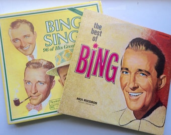 Bing Crosby Vinyl Records Instant Collection