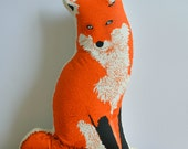 Plush Fox Pillow
