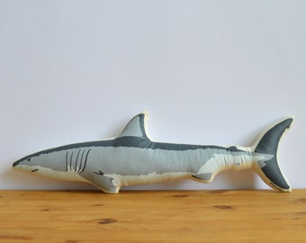 Plush Shark Pillow