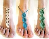 Barefoot Sandal Set - PDF Crochet Pattern - Instant Download