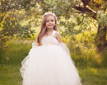 At First Blush Tutu Dress