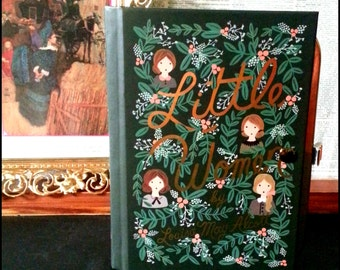 Book Clutch Little Women by Louisa May Alcott Petite Book Purse Clutch Made to Order