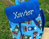 Thomas The Train Toddler backpack - Thomas The Train backpack - personalized