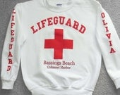 Lifeguard sweatshirts personalized