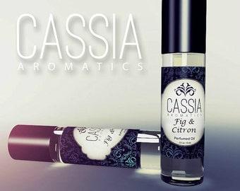 Fig & Citron Blossom Oil Perfume Sweet Citrus Fruity Fragrance