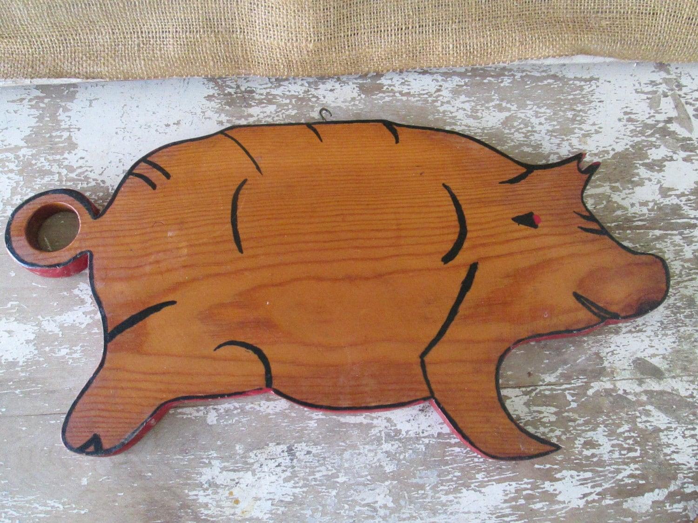 Pig Board Pig Cutting Board Piggy,pig