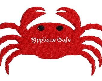 582 Mini Embroidery Crab Machine Embroidery Design
