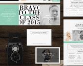 Marketing Set for Photographers - Studio Welcome Packet for Senior Portrait Photographers - Branding Suite - m0166
