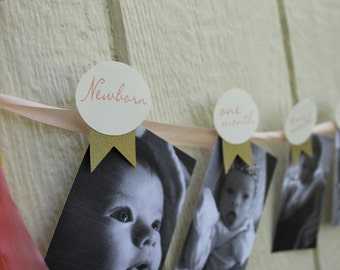 photo banner - Baby's 1st Year Banner