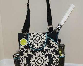 Little Sister to Large Tennis Bag w/ Rounded Pockets - Made to Order