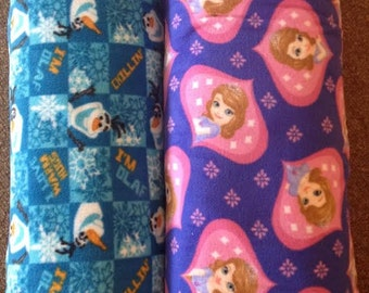 Disney Fleece: Sofia and Olaf- BY THE YARD